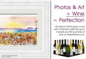 ART Plus WINE Equals Perfection